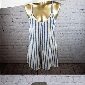 Zara striped romper